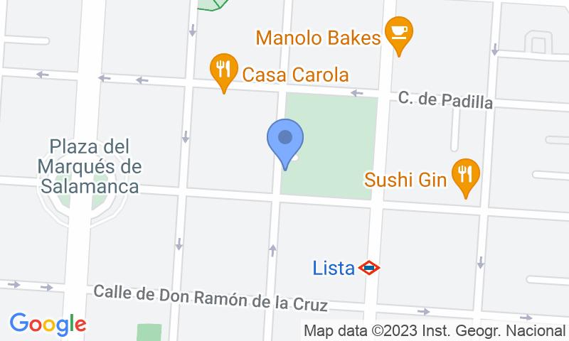 Lugar de estacionamento no mapa - Reserve uma vaga de  estacionamento no Ortega y Gasset Park