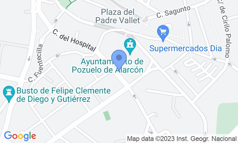 Localizzazione del parcheggio sulla mappa - Prenota un posto nel parcheggio Plaza Mayor
