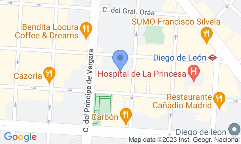 Localizzazione del parcheggio sulla mappa - Prenota un posto nel parcheggio Zabra