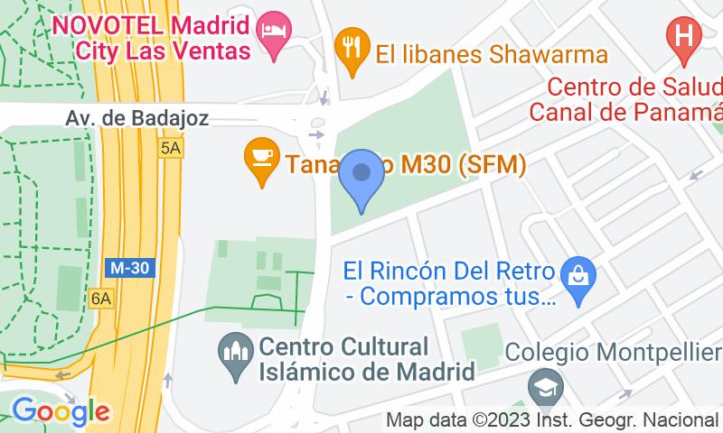 Localizzazione del parcheggio sulla mappa - Prenota un posto nel parcheggio Aparcamiento Verdaguer y García