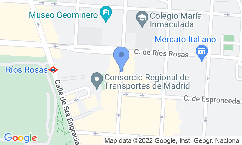 Localizzazione del parcheggio sulla mappa - Prenota un posto nel parcheggio Paso - Ponzano, 54