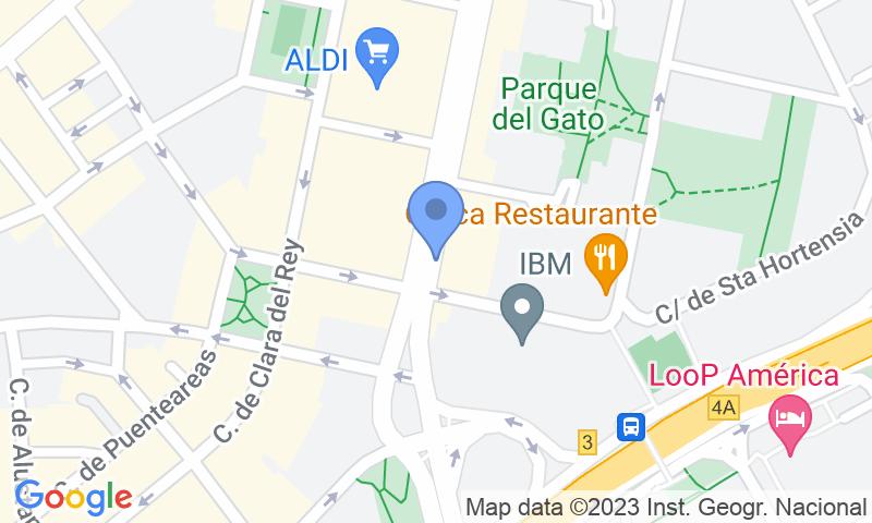 Localización del parking en el mapa - Reservar una plaza en el parking APK2 Corazón de María