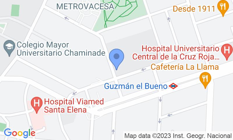 Parking location in the map - Book a parking spot in Reina Victoria - Hacienda car park