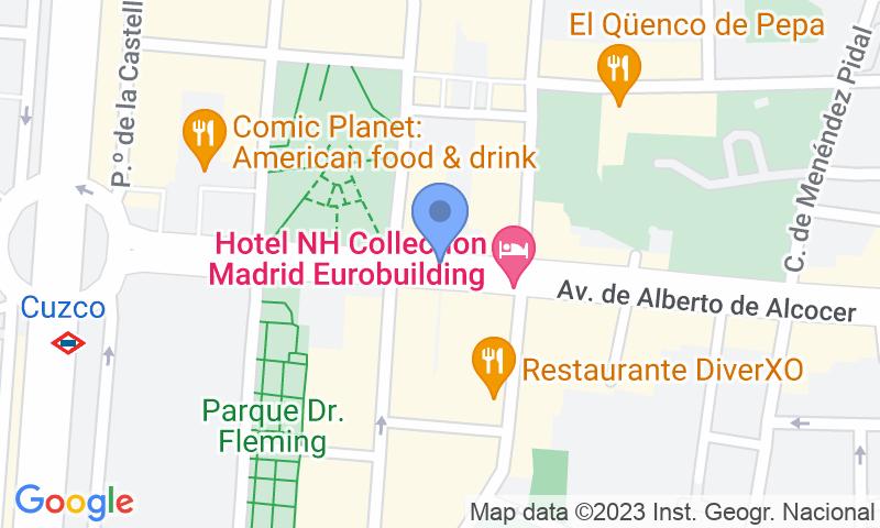 Расположение парковки на карте - Забронируйте паркоместо на стоянке Mundial r.