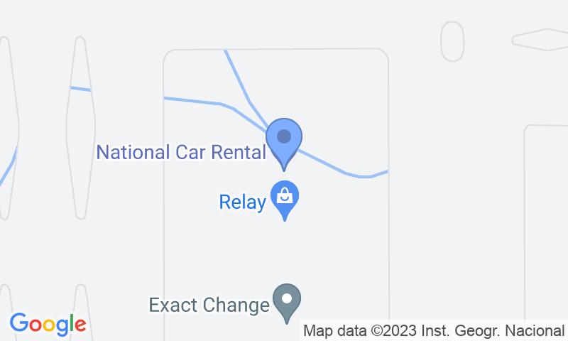 Localización del parking en el mapa - Reservar una plaza en el parking Parking 10-Valet-Aeropuerto Barajas