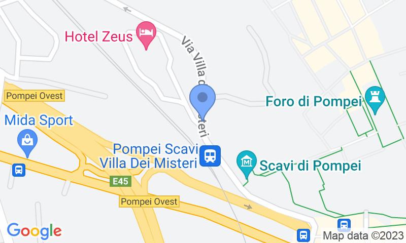 Localizzazione del parcheggio sulla mappa - Prenota un posto nel parcheggio Zeus