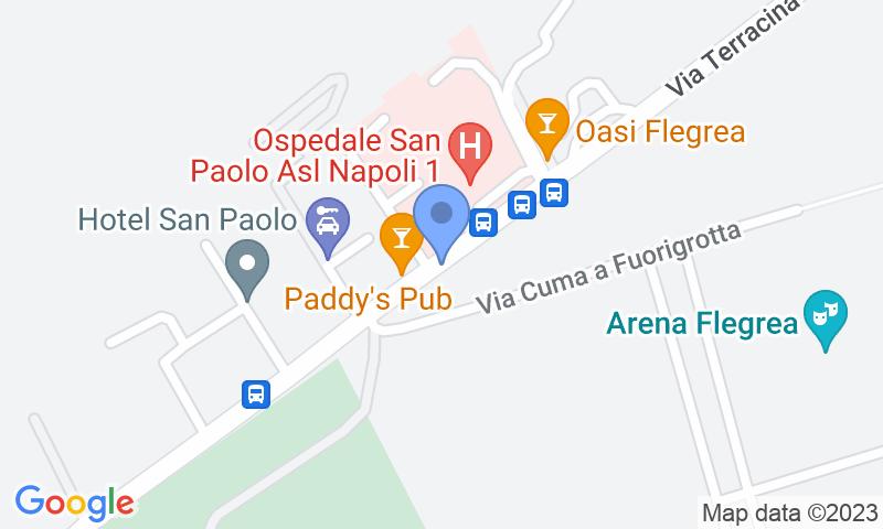 Localizzazione del parcheggio sulla mappa - Prenota un posto nel parcheggio Quick Mostra Terracina Napoli