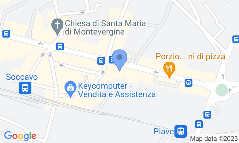 Localizzazione del parcheggio sulla mappa - Prenota un posto nel parcheggio Garage Epomeo