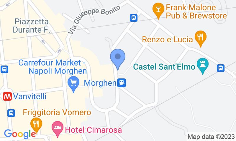 Localizzazione del parcheggio sulla mappa - Prenota un posto nel parcheggio Gepark Morghen