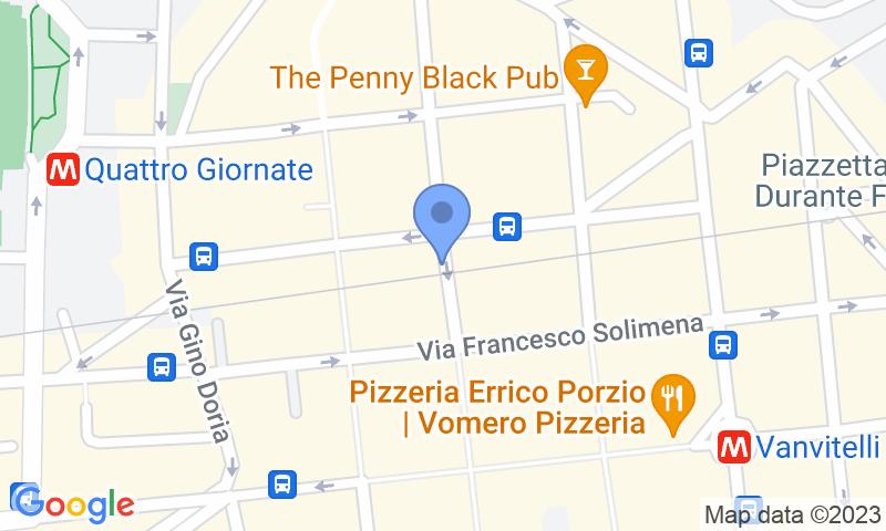 Standort des Parkplatzes auf der Karte - Buch einen Parkplatz im Parking Merliani Parkplatz.