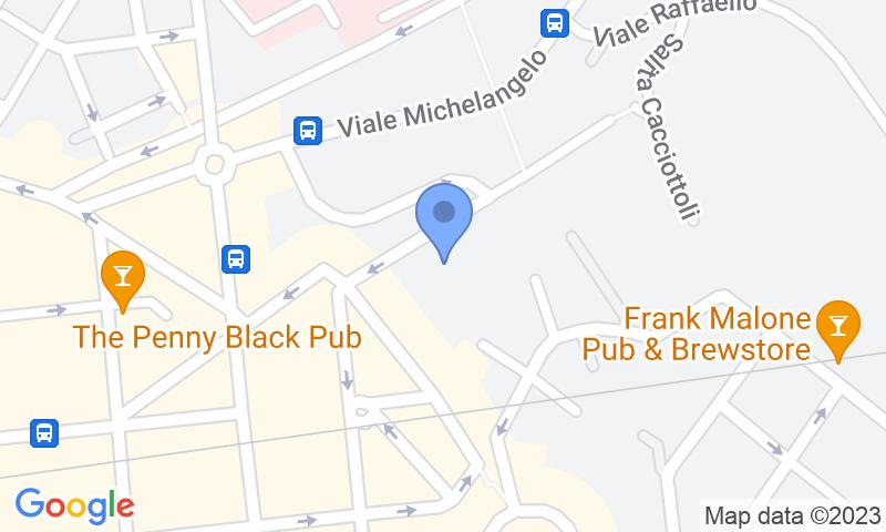 Emplacement du parking sur la carte - Réservez une place dans le parking Gepark Cacciattoli