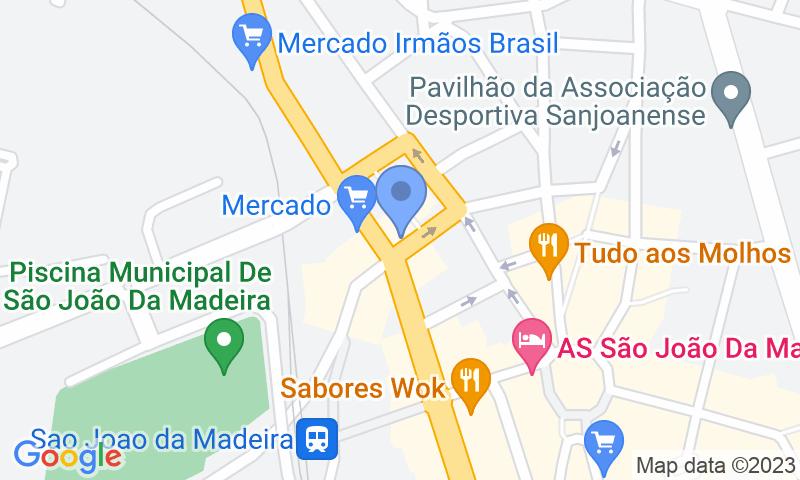Localizzazione del parcheggio sulla mappa - Prenota un posto nel parcheggio SABA Parque Renato Araújo