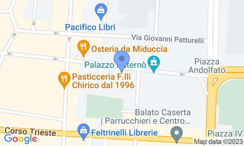 Localización del parking en el mapa - Reservar una plaza en el parking Park San Carlo
