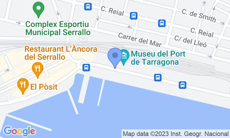 Parkeerlocatie op de kaart - Reserveer een parkeerplek in parkeergarage APK2 Serrallo - Cruceros