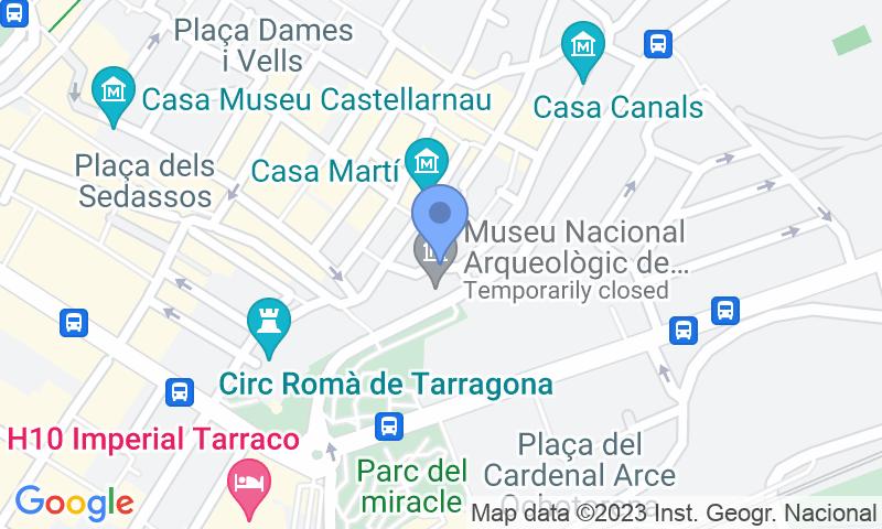 Lugar de estacionamento no mapa - Reserve uma vaga de  estacionamento no Plaça la Font