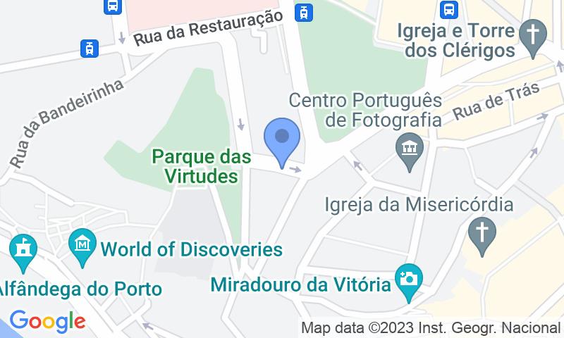 Localización del parking en el mapa - Reservar una plaza en el parking SABA Parque do Palácio da Justiça