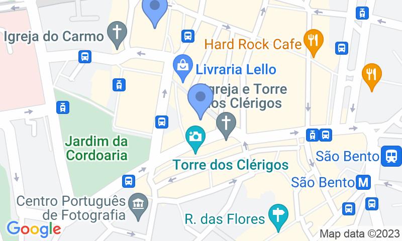 Parkeerlocatie op de kaart - Reserveer een parkeerplek in parkeergarage SABA Parque da Praça de Lisboa