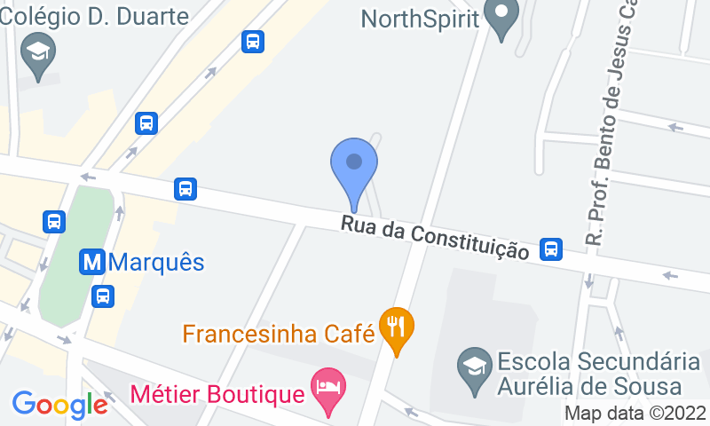 Localizzazione del parcheggio sulla mappa - Prenota un posto nel parcheggio Garagem David e Filhos, Lda