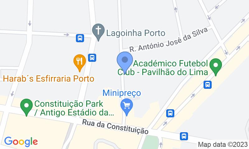 Localizzazione del parcheggio sulla mappa - Prenota un posto nel parcheggio Parque Visconde Setúbal
