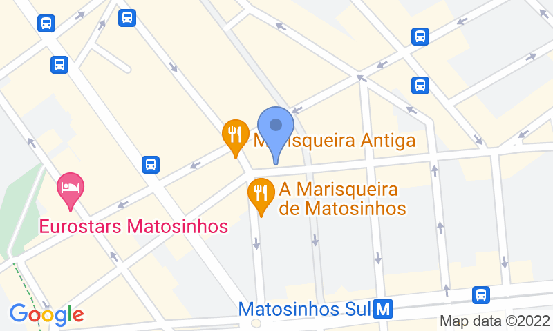 Parking location in the map - Book a parking spot in SABA Parque das Marisqueiras P1 car park