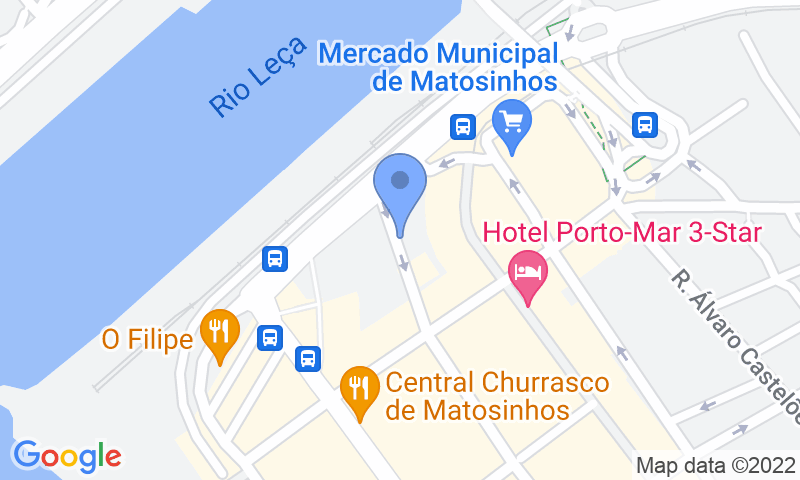 Parking location in the map - Book a parking spot in SABA Parque do Mercado P2 car park