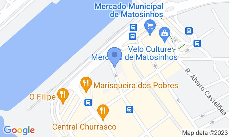 Localizzazione del parcheggio sulla mappa - Prenota un posto nel parcheggio SABA Parque do Mercado P2
