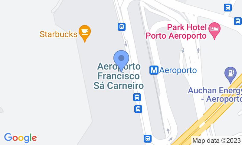 Localizzazione del parcheggio sulla mappa - Prenota un posto nel parcheggio Porto Low Cost Valet