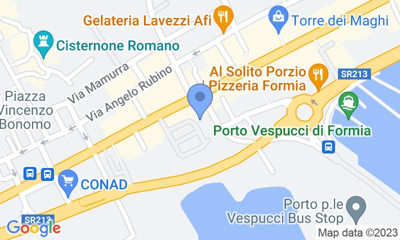 Localizzazione del parcheggio sulla mappa - Prenota un posto nel parcheggio Europarcheggio