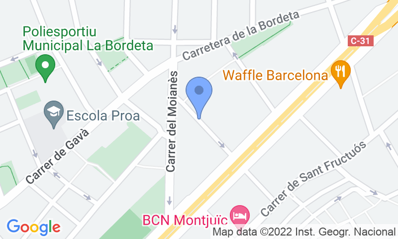 Parking location in the map - Parking Plafer Abanto - Gran Via