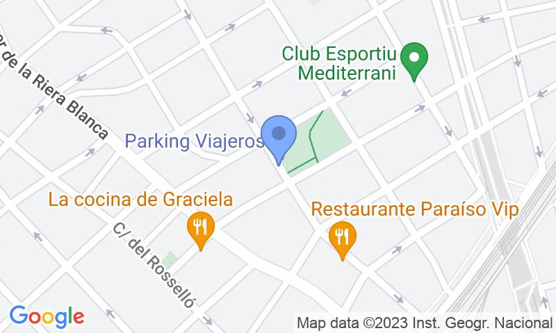 Lugar de estacionamento no mapa - Reserve uma vaga de  estacionamento no Viajeros