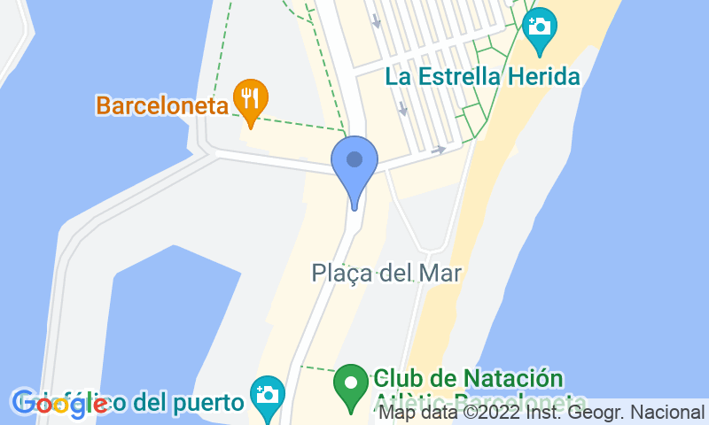 Lugar de estacionamento no mapa - Parking Barceloneta APK2 Plaça del Mar