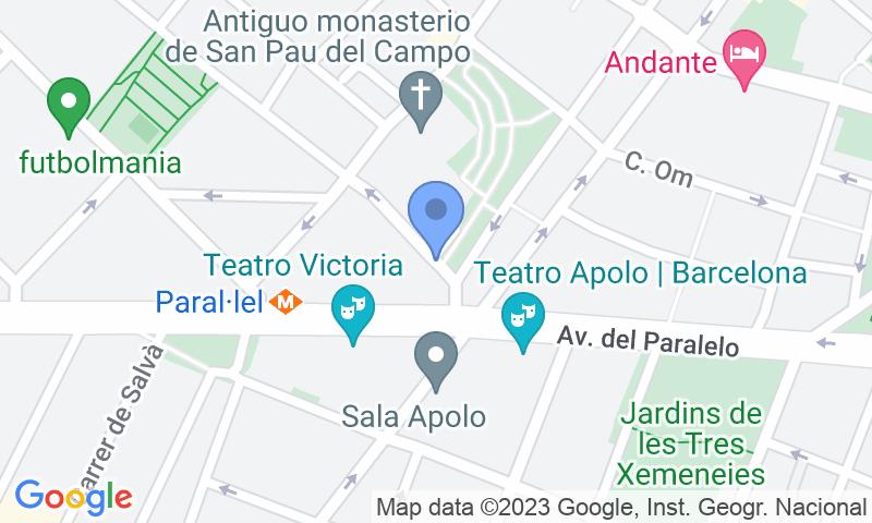 Lugar de estacionamento no mapa - Reserve uma vaga de  estacionamento no SABA BAMSA Paral·lel