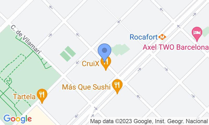 Localización del parking en el mapa - Reservar una plaza en el parking COEN Gran Via