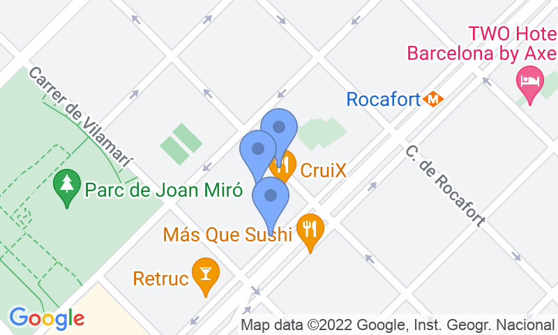 Localizzazione del parcheggio sulla mappa - Prenota un posto nel parcheggio COEN Gran Via