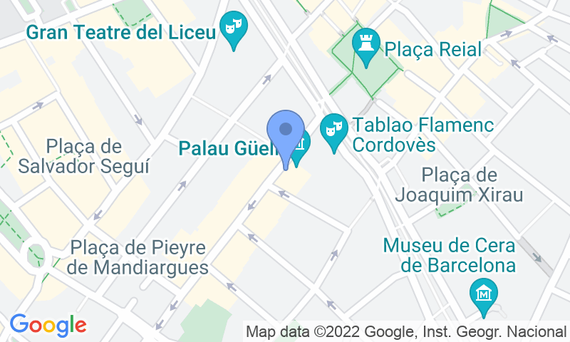Parking location in the map - Parking Las Ramblas- Puerto- Edén