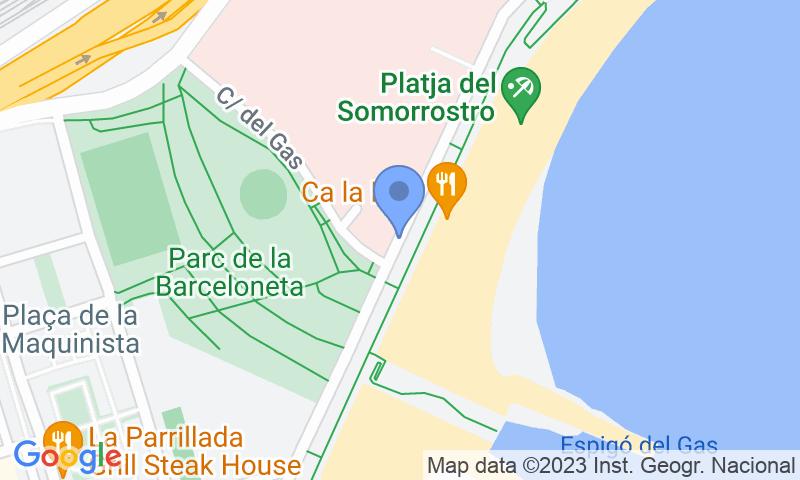 Lugar de estacionamento no mapa - Reserve uma vaga de  estacionamento no BSM Barceloneta - Hospital del Mar