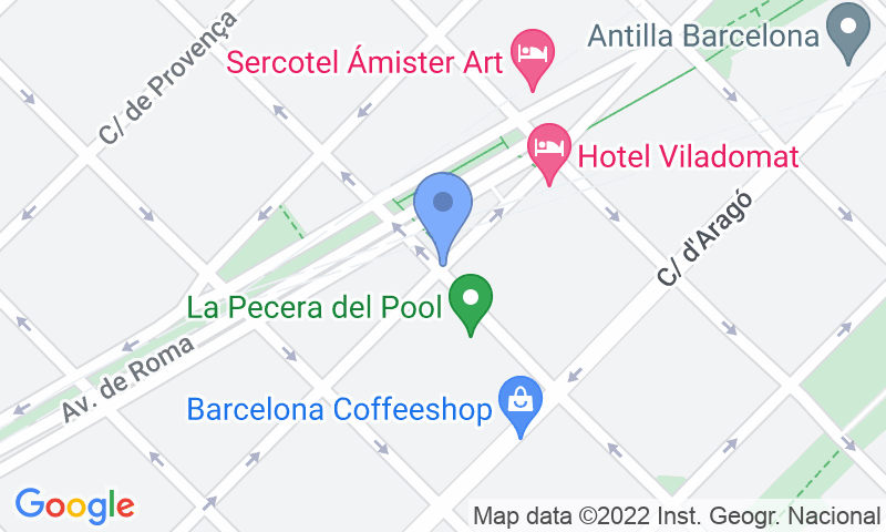 Standort des Parkplatzes auf der Karte - Buch einen Parkplatz im SABA BAMSA València Calabria Parkplatz.