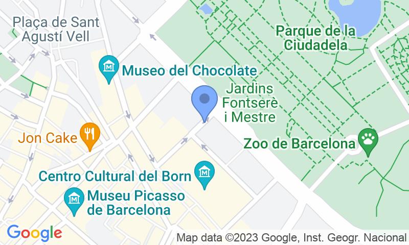 Localizzazione del parcheggio sulla mappa - Prenota un posto nel parcheggio Picasso