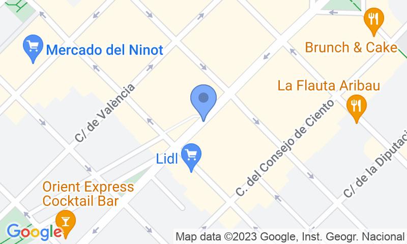 Localizzazione del parcheggio sulla mappa - Prenota un posto nel parcheggio NN Aragó