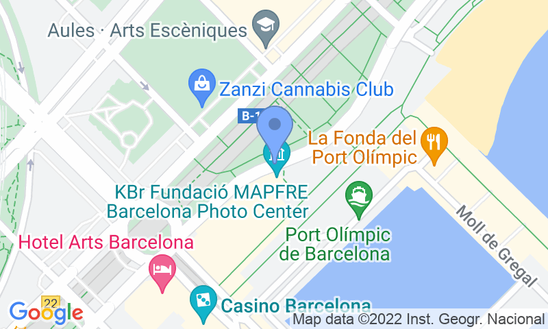 Parking location in the map - Book a parking spot in BSM Litoral - Port Olímpic car park