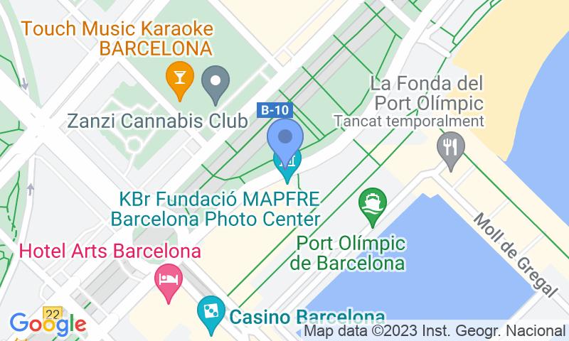 Localizzazione del parcheggio sulla mappa - Prenota un posto nel parcheggio BSM Litoral - Port Olímpic