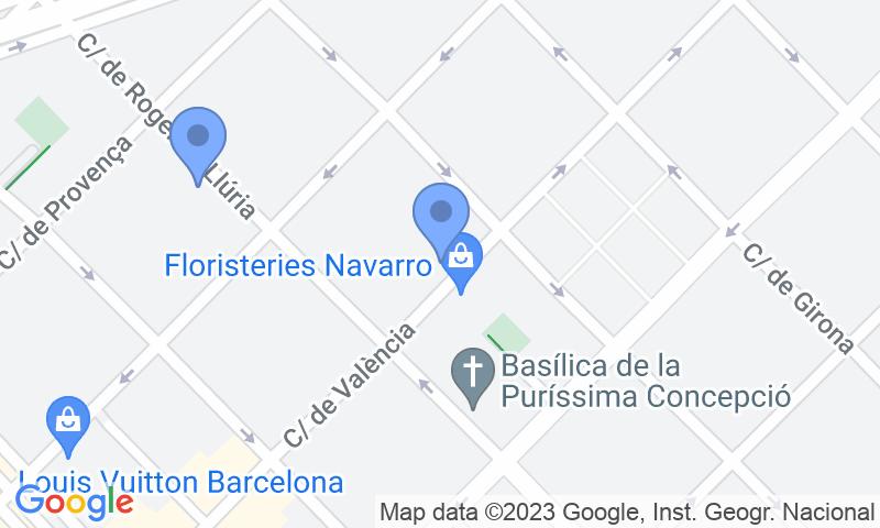 Localizzazione del parcheggio sulla mappa - Prenota un posto nel parcheggio NN Bruc - Conservatori