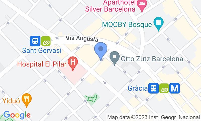 Lugar de estacionamento no mapa - Reserve uma vaga de  estacionamento no Madrazo 27 - Fremap Clínica del Pilar