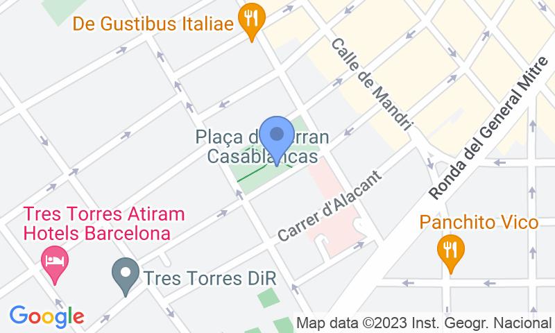 Lugar de estacionamento no mapa - Reserve uma vaga de  estacionamento no BSM Ferran Casablancas