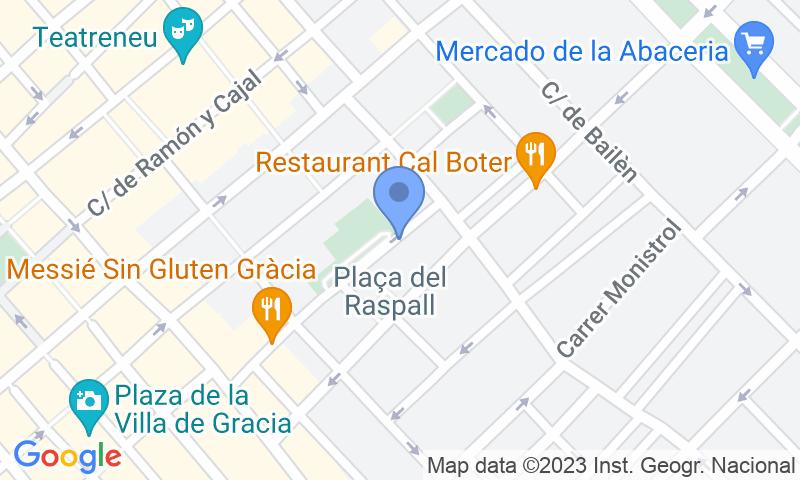 Localització del parking al mapa - Reservar una plaça al parking SABA BAMSA Siracusa - Gràcia