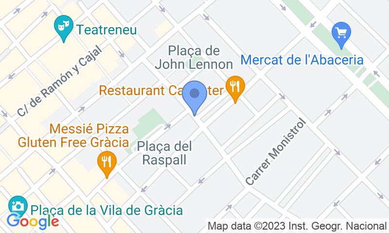 Localizzazione del parcheggio sulla mappa - Prenota un posto nel parcheggio Brasília - Gracia