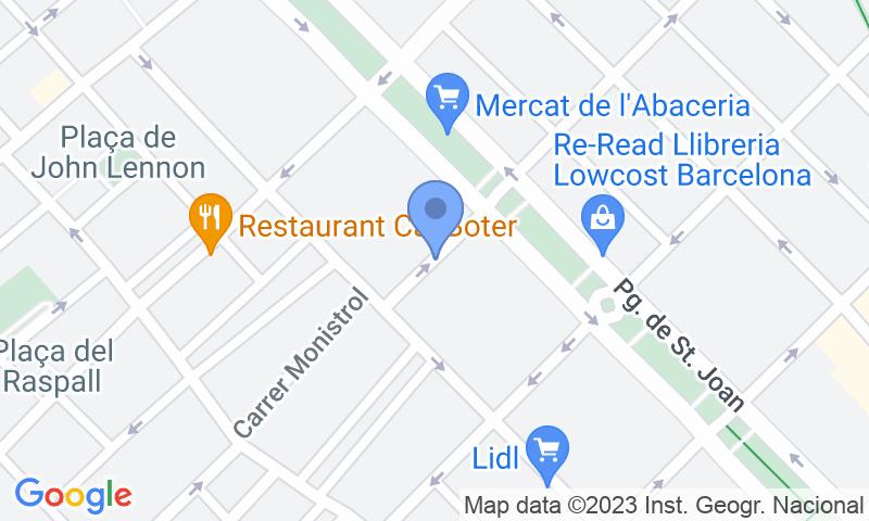 Localizzazione del parcheggio sulla mappa - Prenota un posto nel parcheggio Indústria 9