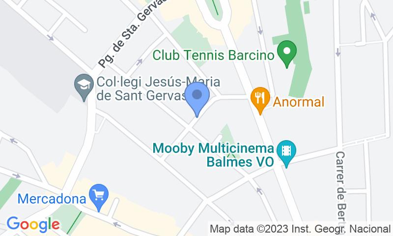 Lugar de estacionamento no mapa - Reserve uma vaga de  estacionamento no NN Sant Gervasi