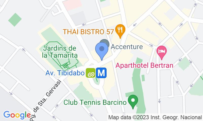 Localización del parking en el mapa - Reservar una plaza en el parking NN La Rotonda