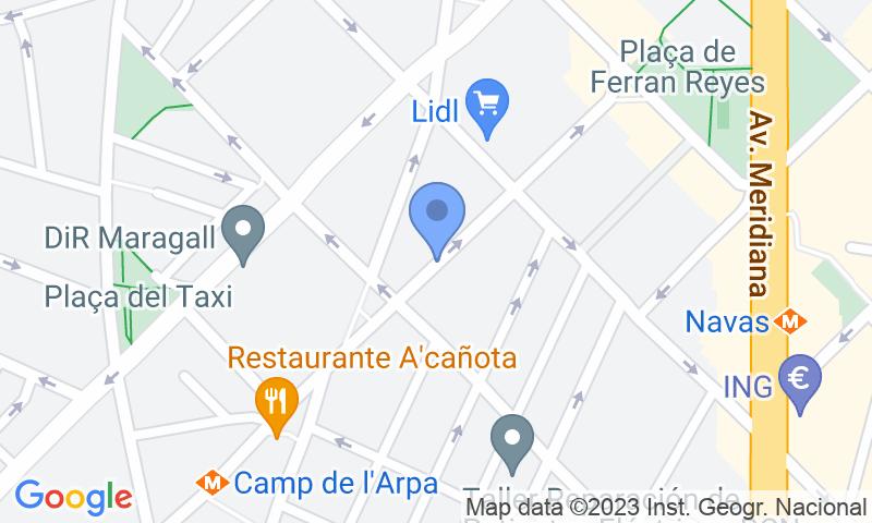 Localizzazione del parcheggio sulla mappa - Prenota un posto nel parcheggio Monterols - Tasmisu